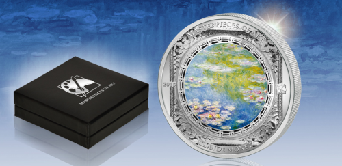 Claude-Monet-Water-Lilies-Silver-Coin