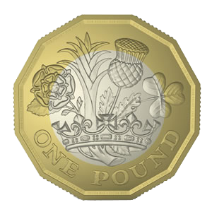 Монета Великобритании 1 пенс 2017