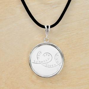 """Монета-подвеска """"Сису"""" 2015 Финляндия"""
