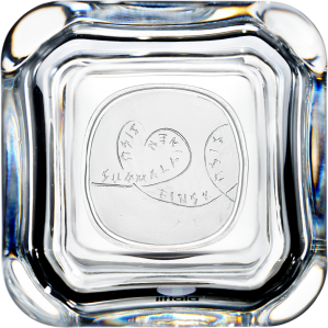 "Серебряная монета ""Сису"" 20 евро 2015 Финляндия в стеклянном футляре"