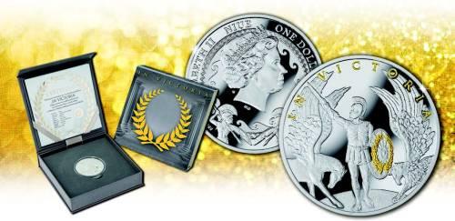 Серебряная монета In Victoria Монетный двор Польши