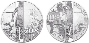 монета года, австрийские монеты