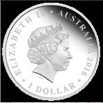 2016-Wedding-Silver-1oz-Proof-Coin Obverse