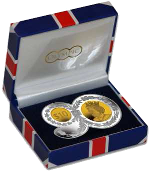 British Virgin-Islands-10 dollar-Queens-90th-Birthday-Shaped-Coin-Silver-Proof-2016