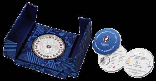 Официальная серебряная монета 1 кг ЕВРО 2016