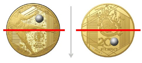 France Coin Striking Usual Custom