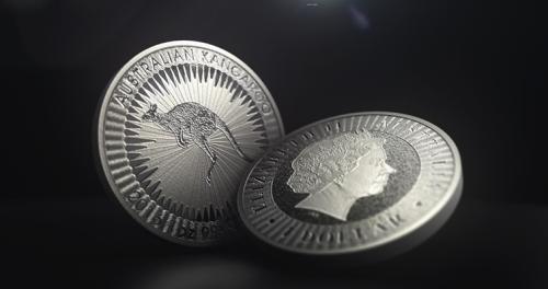 Инвестиционная монета Кенгуру 1 унция Пертский Монетный двор Австралия