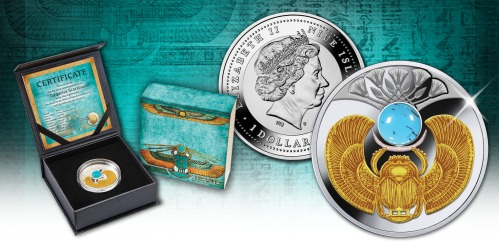 turquoise-scarabeus_silver-coin