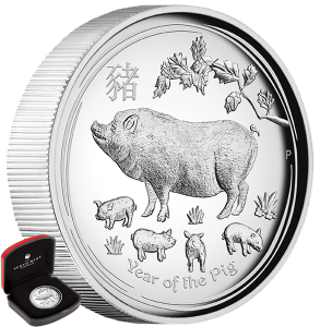 01-2019-YearOfThePig-Silver-1oz-HighRelief-Proof-Main
